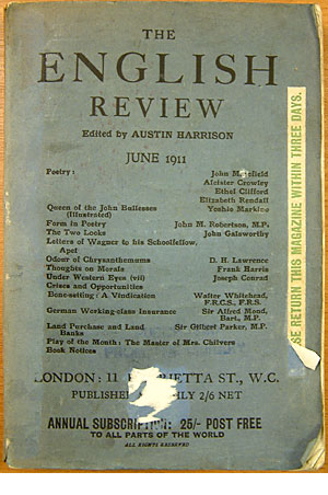 Front cover of 'English Review'